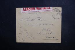 BELGIQUE - Enveloppe  En Fm Pour La France En 1916 Avec Contrôle Postal  - L 49343 - WW I