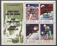 Fujeira,Apollo XI-First Men On The Moon 1969.,block-imperforated,MNH - Fujeira