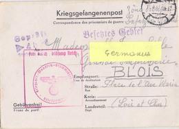GUERRE 39-45 COR.PRISONNIER DE GUERRE Français Stalag XII A /4b Limburg An Der Lahn – Rédigé Le 14-4-1941 - Guerra De 1939-45
