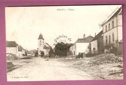 Cpa Mercey L'Eglise - Animée - éditeur Bergeret - Francia