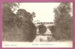 Cpa Savoyeux Le Pont Du Chemin De Fer - Train Sur Pont - éditeur Bergeret - France