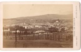 AIX LES BAINS 1852  - Photo Cdv DEMAY Vue Générale D - Antiche (ante 1900)