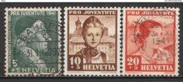 Helvetia 1941 Cancelled At A - Svizzera