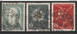Helvetia 1943 Cancelled At A - Svizzera