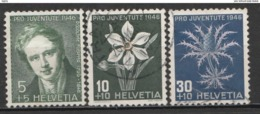Helvetia 1946 Cancelled At A - Suiza