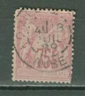 France   81  Ob  Second Choix   Voir Description Et Scan    Cote 120 Euro - 1876-1898 Sage (Type II)