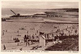 - SOULAC - La Plage Aux Travaux De Défense - - Soulac-sur-Mer