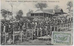 Auguste Béchaud - Congo Français - Maison Portugaise à Bangui - Carvalho Fernandes & Ca - - Congo Francese - Altri