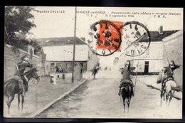 NOGENT SUR OISE 60 - Guerre 1914/15 - Escarmouche Entre Uhans Et Dragons Français Le 2 Septembre 1914 - #B419 - Nogent Sur Oise