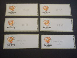 PORTUGAL 2003.  CROUZET  Etiq + CAzul. MNH. (V22-420) - Eurocopa (UEFA)