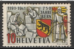 Helvetia 1941 Cancelled At A - Suiza