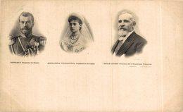 RUSIA // RUSSIE. NICOLAS II - ALEXANDRA FEODOROWNA - EMILE LOUBET - Russie