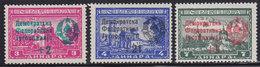 Yugoslavia 1945 Monasteries Without Net, MNH (**) Michel 451 II - 453 II - Nuovi