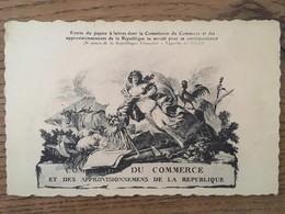 Cpa, COMMISSION DU COMMERCE ET DES APPROVISIONNEMENTS DE LA REPUBLIQUE - Handel