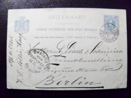 Old Post Card Carte Karte Netherlands Nederland 1891 Postal Stationery S-gravenhage - Postal Stationery