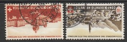 Helvetia 1943 Cancelled At A - Suiza