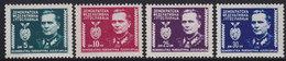 Yugoslavia 1945 Marshal Tito, MNH (**) Michel 454-457 - Nuovi