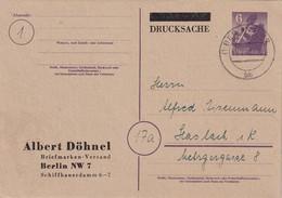 ALLEMAGNE  1943     ENTIER POSTAL/GANZSACHE/POSTAL STATIONERY CARTE DE RAUSCHA - Interi Postali
