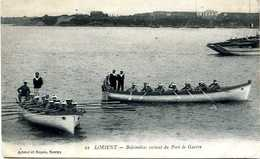 BALEINIERES EN MANOEUVRE, LORIENT - 1914-18
