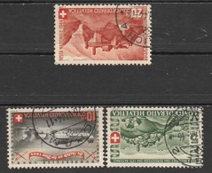 Helvetia 1944 Cancelled At A - Suiza