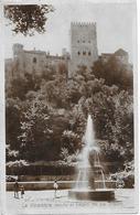 Granada. La Alhambra Desde El Paseo De Los Tristes. - Granada