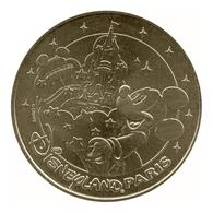 Monnaie De Paris , 2014 , Marne La Vallée , Disneyland , Les Deux Châteaux , Mickey Sorcier , Revers CAN - Monnaie De Paris