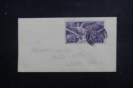 WALLIS ET FUTUNA - Affranchissement Plaisant Sur Petite Enveloppe Pour Mata Utu En 1947 - L 49361 - Covers & Documents