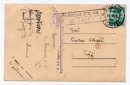 1936 YUGOSLAVIA, SLOVENIA, LOGARSKA DOLINA, SOLCAVA, SENT TO TRZIC, EDELWEISS,  USED ILLUSTRATED POSTCARD - Yugoslavia