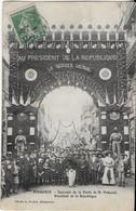 PERIGUEUX: Souvenir De La Visite De M. POiINCARE , Président De La République- La Foule  Sous L 'Arc De Triomphe(1914) - Périgueux