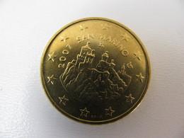 Saint Marin : 50 Cents 2007  - Prix : 1,95 € - San Marino