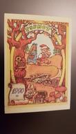 2 Items Lot - Pinocchio - Bunny -  Champignon - OLD Postcard And Calendar - MUSHROOM - Gruppi Di Bambini & Famiglie