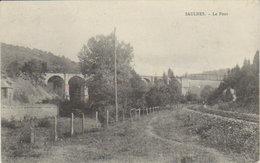 """1905  Saulnes   """" Le Pont De Lasauvage """" -  Environs De Longwy - - Longwy"""