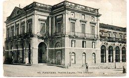 Tarjeta Postal De Matanzas . Teatro Sauto. - Postkaarten