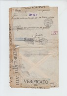 ENVELOPPE  DE GENOVA  VERS  GENEVE - PRIGIONIERI GUERRA - VERIFICATA CENSURA + AMBULANCIA 79  -  1918 - 1900-44 Victor Emmanuel III