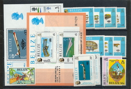 Belize , Nice Mint Lot From The 1970th (as Per Scans) - Belize (1973-...)