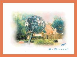 A120/273 71 - LE CREUSOT - Jardin Des Terrasses - Aquarelle Numérique ... - France