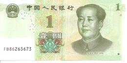 China  1 Yuan    2019  UNC - Cina
