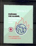 SLOVENIA  2019,RED CROSS ADHESIV,SOLIDARITY WEEK,MNH - Eslovenia
