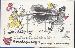 Buvard La Vache Qui Rit , Série Les Duels à Travers Les âges N°06/10 - Vloeipapier