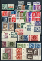 Germany, German Empire  , Huge Party Of  Mint Stamps On Pages (as Per Scans) MNH - Deutschland