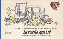 Buvard La Vache Qui Rit , Série Les Métiers  N°01/10 - Collezioni & Lotti