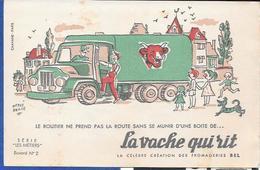 Buvard La Vache Qui Rit , Série Les Métiers  N°02/10 - Buvards, Protège-cahiers Illustrés