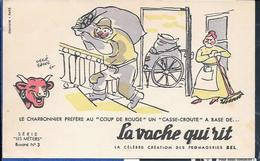 Buvard La Vache Qui Rit , Série Les Métiers  N°03/10 - Carte Assorbenti