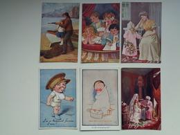 "Beau Lot De 60 Cartes Postales De Fantaisie "" Oilette ""  Raphael Tuck & Sons    Mooi Lot Van 60 Postkaarten Fantasie - Cartes Postales"