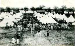 LA VALBONNE , CAMP , TENTES - 1914-18