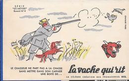 Buvard La Vache Qui Rit , Série Les Métiers  N°04/10 - Buvards, Protège-cahiers Illustrés