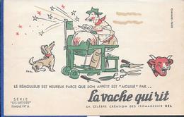 Buvard La Vache Qui Rit , Série Les Métiers  N°06/10 - Buvards, Protège-cahiers Illustrés