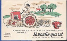 Buvard La Vache Qui Rit , Série Les Métiers  N°0710 - Buvards, Protège-cahiers Illustrés