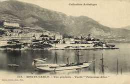 """MONTE CARLO Vue Generale Yacht """"Princesse Alice"""" RV - Harbor"""