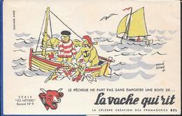 Buvard La Vache Qui Rit , Série Les Métiers  N°09/10 - Buvards, Protège-cahiers Illustrés